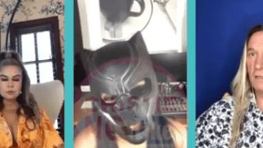 La persona que ha hecho varias acusaciones en contra de Karla Panini y Américo Garza, se quita la máscara y revela su identidad.