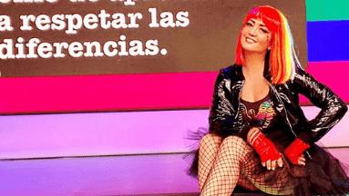 Andrea Legarreta luce look atrevido en el programa 'Hoy.
