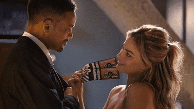 Will Smith y Margot Robbie en ''Focus''.