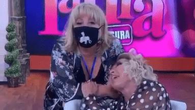 Laura Bozzo y Magda Rodríguez aseguran que son grandes amigas.