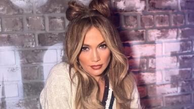 Jennifer Lopez hace bailar a su familia con divertido video