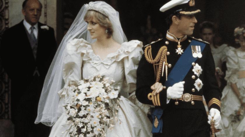La princesa tenía 20 años cuando se casó.(Ilustrativa/Twitter.)