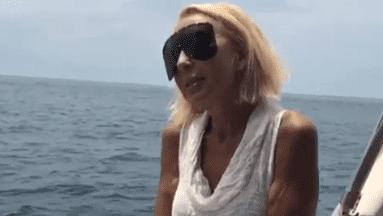 Laura Bozzo comparte video en el que halaba México.