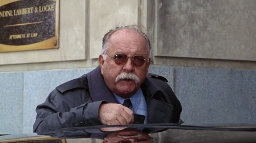 Wilford Brimley en The Firm 1993.(Captura de pantalla)