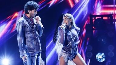 Así fue la presentación de Danna Paola y Sebastián Yatra en los Premios Juventud