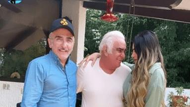 Vicente Fernández conoció ya a su nueva nuera
