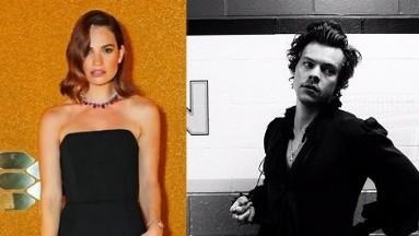 Lily James y Harry Styles protagonizarán una película basada en la novela