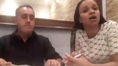 """VIDEO: Pastor agrede a su esposa y comienza el culto con """"la paz del señor"""""""