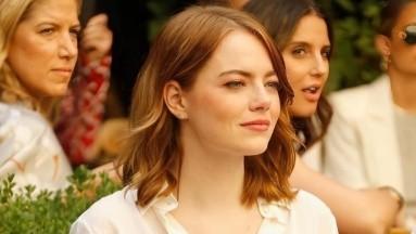 Emma Stone recibió anillo de compromiso en diciembre de 2019.