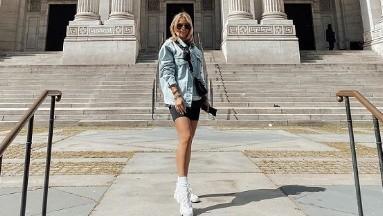La actriz sube a sus redes sociales fotos de algunos lugares que visita durante su estancia en Nueva York.