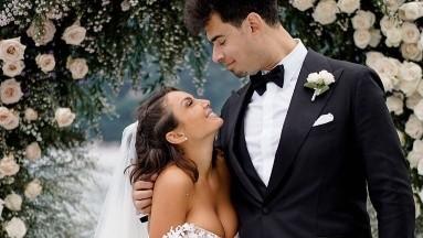 Elettra Lamborghini y Dj Afrojack se casan en Italia