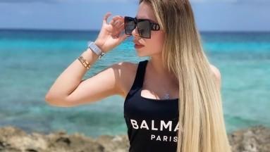 Vanessa Gurrola, doble de Emma Coronel, eleva la temperatura en bikini