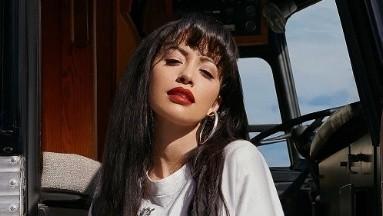 Christian Serratos es la actriz que dará vida a Selena Quintanilla.