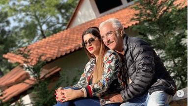 Vicente Fernández Jr y su novia Mariana Rodríguez
