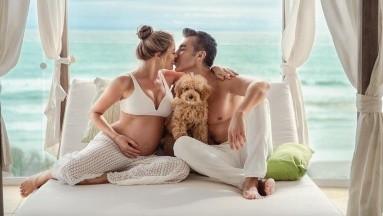 El sueño de Adrián Uribe de tener una hija se hará realidad pronto.