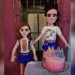 Tras pelea en pleno cumpleaños, las famosas niñas del pastel ya tienen sus propias piñatas.