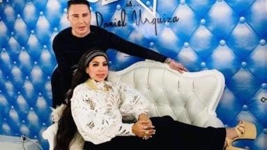 Muñeca Diamante y Daniel Urquiza