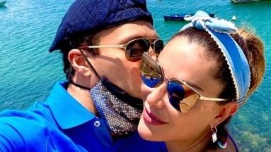 Contra viento y marea, Ninel Conde se casa con Larry Ramos