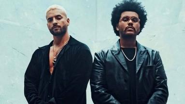 The Weeknd se une a Maluma en el remix de