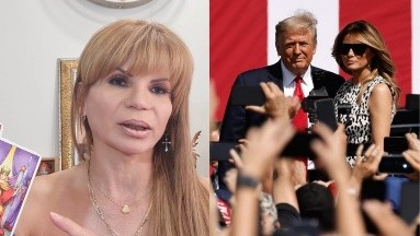 Mhoni Vidente: Donald Trump se divorcia de Melania y se va a vivir a México o Rusia