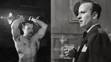 Pedro Infante era un hombre muy disciplinado que hacía ejercicio y cuidaba su cuerpo.