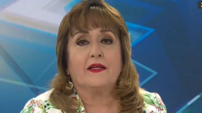 La conductora regañó a losneoleoneses luego de que aumentaran las restricciones en Nuevo León tras aumento de casos de Covid-19.(Captura del video)