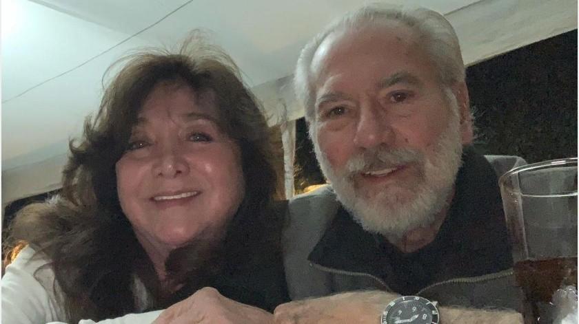 Maleni Morales y Otto Sirgo se casaron en 1974.(Instagram Otto Sirgo)