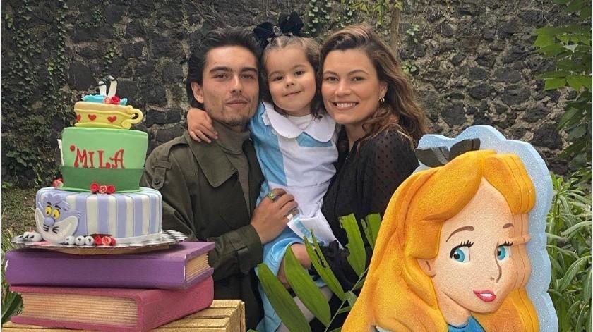 Natália y Sergio celebraron el cumpleaños #4 de su hija Mila.(Instagram: nataliasubtil)