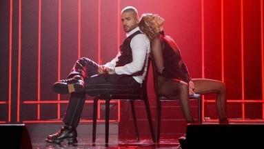 Maluma y JLo dueños del escenario en los American Music Awards.