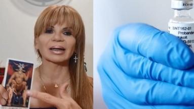 Mhoni Vidente señala que al fin se ve la luz en el camino y una nueva farmacéutica sacará una vacuna.