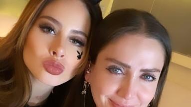 Celia Lora e Ignacia Michelson se unen para grabar material para Playboy