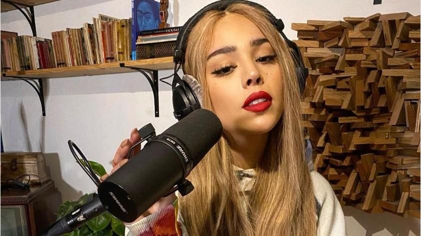 La cantante recibió el apoyo de las plataformas de streaming y se lanzó su álbum completo.(Instagram Danna Paola)