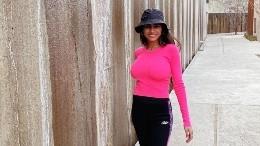 La actriz impactó al mostrar su cuerpo al natural.