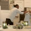 VIDEO VIRAL: Recién casados se avientan el pastel de bodas a horas de contraer matrimonio